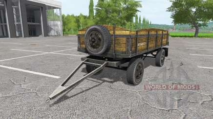Tractor trailer v1.1 pour Farming Simulator 2017
