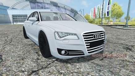 Audi A8 (D4) 2012 pour Farming Simulator 2013