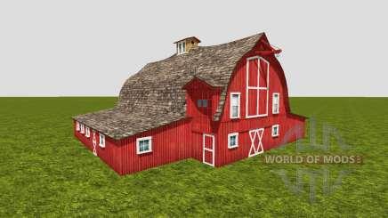 American barn v3 pour Farming Simulator 2015