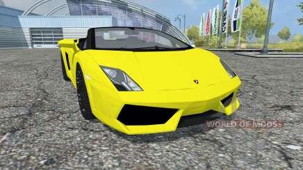 Lamborghini Gallardo LP 560-4 Spyder 2009 für Farming Simulator 2013