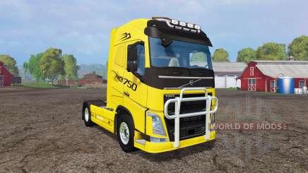Volvo FH16 v1.2 für Farming Simulator 2015