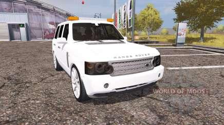 Land Rover Range Rover Supercharged (L322) pour Farming Simulator 2013