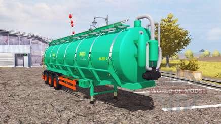Aguas-Tenias tank manure pour Farming Simulator 2013