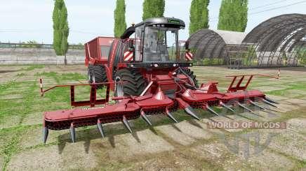 Krone BiG X 1100 cargo pour Farming Simulator 2017