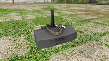 Weight Fendt pour Farming Simulator 2017
