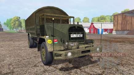 MAN 630L2 AE v0.1 pour Farming Simulator 2015