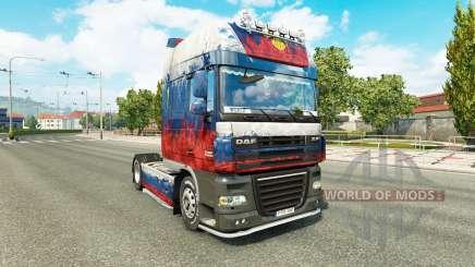 La peau de la Russie tracteur DAF pour Euro Truck Simulator 2
