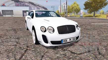 Bentley Continental GT Supersports pour Farming Simulator 2013