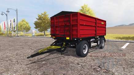 Zaslaw D-737AZ red v2.0 für Farming Simulator 2013