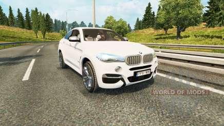 BMW X6 M50d (F16) pour Euro Truck Simulator 2