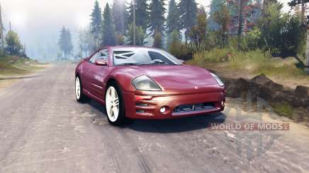 Mitsubishi Eclipse GTS 2003 pour Spin Tires