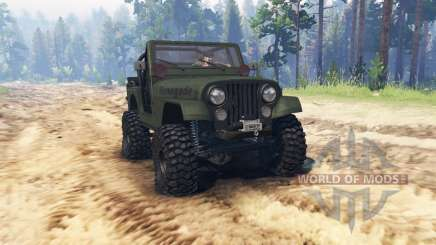 Jeep CJ-7 Renegade 1976 pour Spin Tires