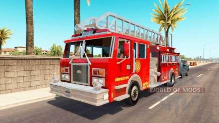 Emergency vehicles USA traffic pour American Truck Simulator
