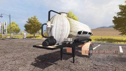 Manure semitrailer pour Farming Simulator 2013
