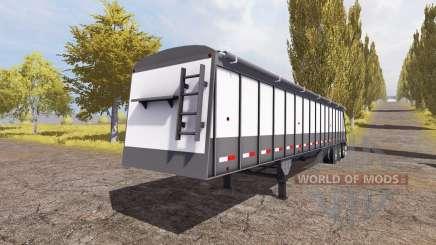 Cornhusker 800 3-axle hopper trailer pour Farming Simulator 2013