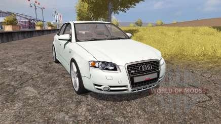 Audi A4 3.0 TDI quattro (B7) v1.1 pour Farming Simulator 2013