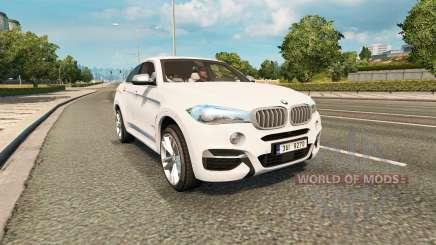 BMW X6 M50d (F16) v2.0 pour Euro Truck Simulator 2