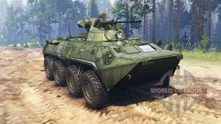 BTR 82A (GAZ-59034) für Spin Tires