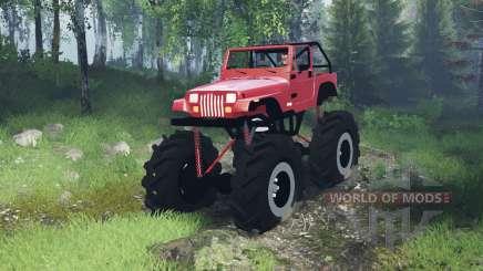 Jeep Wrangler (YJ) mega pour Spin Tires