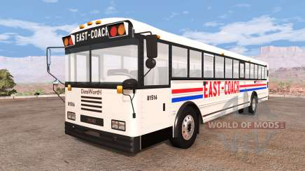Dansworth D2500 (Type-D) east-coach v1.1 pour BeamNG Drive