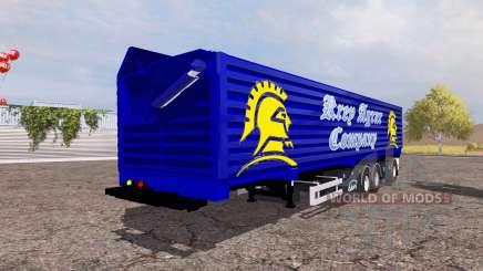 Ekeri big tipper semitrailer pour Farming Simulator 2013