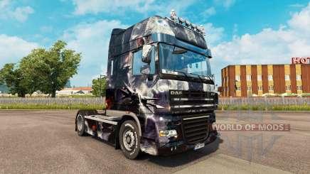 La peau Fantasy Dérangé pour tracteur DAF pour Euro Truck Simulator 2