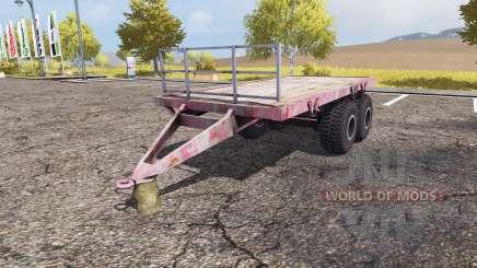 Bale trailer v2.0 pour Farming Simulator 2013