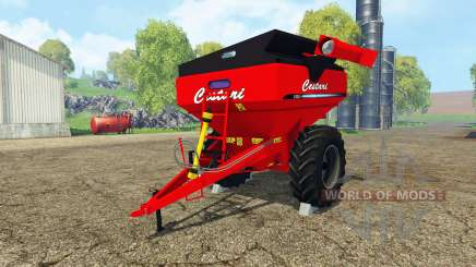 Cestari field transfer trailer pour Farming Simulator 2015