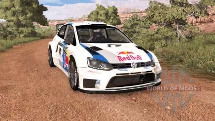 Volkswagen Polo R WRC v2.0 pour BeamNG Drive