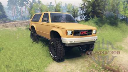 GMC Jimmy 1994 pour Spin Tires