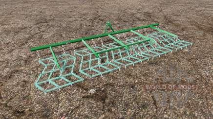 Mounted harrow pour Farming Simulator 2015