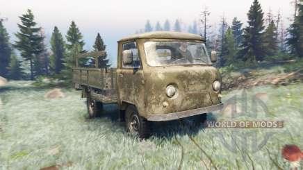 UAZ 452Д pour Spin Tires