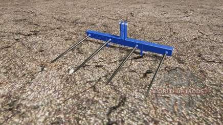 GOWEIL bale forks pour Farming Simulator 2015