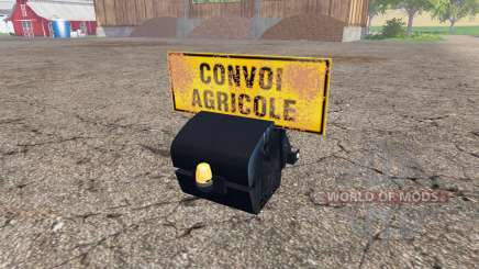 Weight New Holland pour Farming Simulator 2015