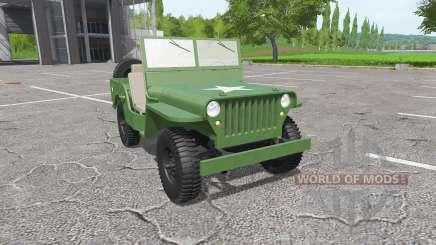Jeep Willys MB 1942 für Farming Simulator 2017