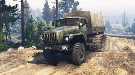 Ural 4320 marsh buggy v1.1 für Spin Tires