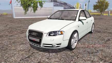 Audi A4 3.0 TDI quattro (B7) pour Farming Simulator 2013