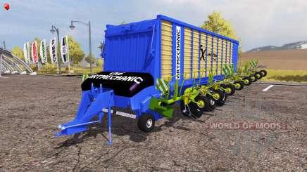 Krone ZX 550 GD rake ArtMechanic v3.5 pour Farming Simulator 2013