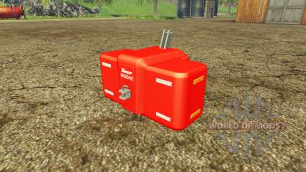 Suer SB 1600 multicolor pour Farming Simulator 2015