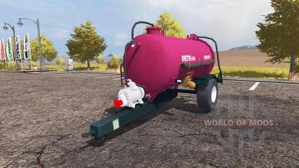 Agrogep DETK 125 pour Farming Simulator 2013
