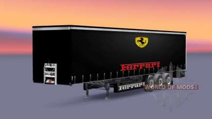 Peaux écuries de Formule 1 pour le semi pour Euro Truck Simulator 2
