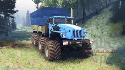 Ural-6614 mega v2.0 für Spin Tires