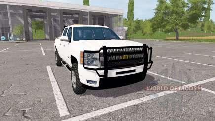 Chevrolet Silverado Z71 Crew Cab für Farming Simulator 2017