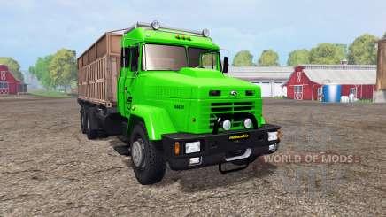 KrAZ 64431 v1.2 pour Farming Simulator 2015
