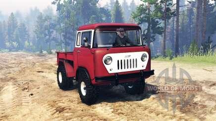 Jeep FC-150 für Spin Tires