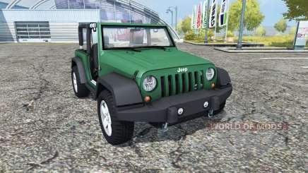 Jeep Wrangler (JK) v0.95 für Farming Simulator 2013