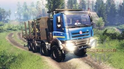 Tatra Phoenix T 158 8x8 v11.0 für Spin Tires
