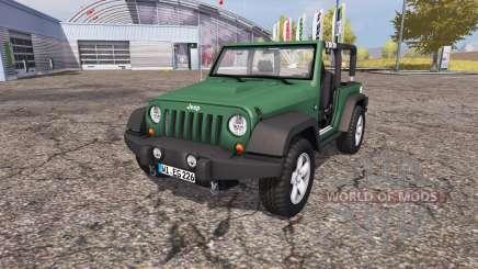Jeep Wrangler (JK) v1.1 für Farming Simulator 2013
