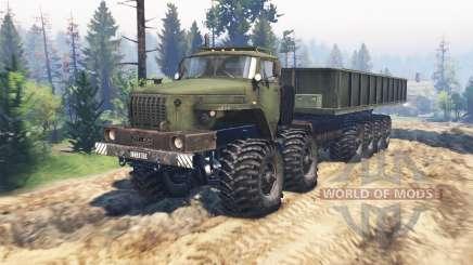 Ural-monster v3.6 für Spin Tires