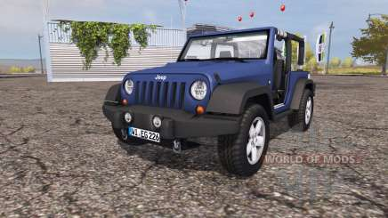 Jeep Wrangler (JK) v1.0 für Farming Simulator 2013